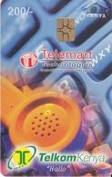 TARJETA DE KENIA DE TELEMART DE KSH 200  DATE 31/12/2000 - Kenia