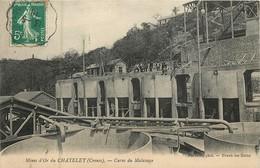 Dep - 23 - LE CHATELET EVAUX LES BAINS Cuves De Malaxage Mines D'or - Frankreich