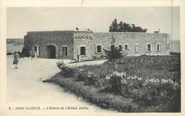 PORT MANECH - L'entrée De L'hôtel Julia. - France