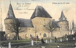 Solre Sur Sambre NA13: Château Fort Du XII Siècle 1907 - Erquelinnes