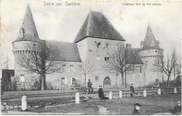 Solre Sur Sambre NA14: Château Fort Du XII Siècle 1906 - Erquelinnes