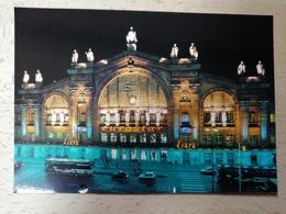 Carte Postale Gare De Paris-Nord Premier Anniversaire De L'eurostar Novembre 1995 - Bahnhöfe Ohne Züge