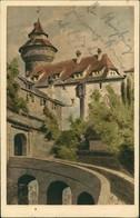 Ansichtskarte Nürnberg Partie Am Vestnertor, Kunst, Künstlerkarte 1920 - Nuernberg
