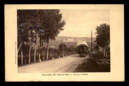 ITALIE - COLLEGE DE BOLLENGO - ROUTE D'IVREA - TRAMWAY A VAPEUR - Italie