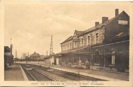 Chapelle-lez-Herlaimont NA20: La Gare Située Sur Le Hameau De Bascoup - Chapelle-lez-Herlaimont
