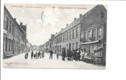 ADINKERKE. - Rue De La Station - Café Ste-Cécile. - Belgique