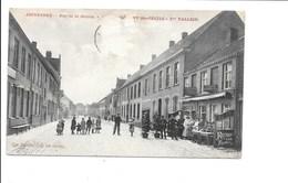 ADINKERKE. - Rue De La Station - Café Ste-Cécile. - Bélgica