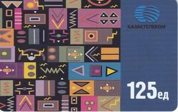 TARJETA DE KAZAJISTAN DE 125 UNITS DE UN MOSAICO - Kazakhstan