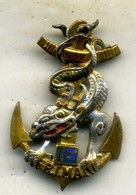 Insigne Du 16é Rgt D Infanterie Marine___drago - Hueste