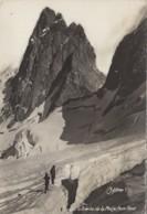 La Grave 05 - Brèche De La Meije - Face Nord - Edition Fousset-Oddoux - Alpinisme - Oblitération 1957 Gants Grenoble - Non Classés