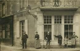 280120A - CARTE PHOTO COMMERCE RESTAURANT - NEVERS ? - Rue De Vert Pré Restaurant JOLY - Métiers