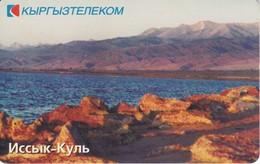 TARJETA DE KIRGUISTAN DE 50 UNITS DE UN LAGO - Kirghizistan
