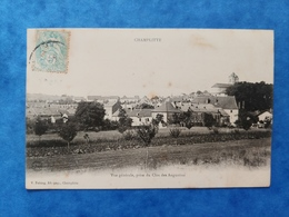 Champlitte Vue Générale Prise Du Clos Des Augustins Haute Saône Franche Comté - Altri Comuni