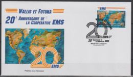 Wallis Et Futuna 2019 Mi. ? FDC First Day 1er Jour Joint Issue 20e Anniversaire EMS 20 Years Emission Commune E.M.S. UPU - FDC