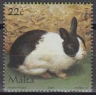 Malta 2006 (MNH) (Mi 1445) - Domestic Rabbit (Oryctolagus Cuniculus Domesticus) - Konijnen