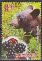 Romania 2014 (MNH) - Mi 6863A - Brown Bear (Ursus Arctos), Blackberries - Bären