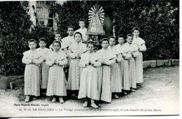 N°2495 T -cpa Béhuard -la Vierge Couronnée En 1923 Et Son Escorte De Petits Clercs- - Andere Gemeenten