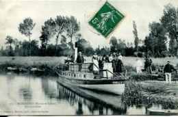 N°2504 T -cpa Morannes -embarcadère- - Frankrijk