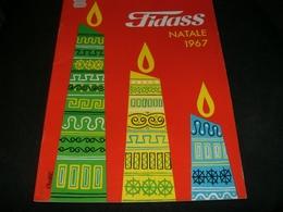 CATALOGO FIDASS NATALE 1967 - Cioccolato