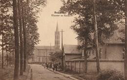 BOISSCHOT / Booischot - Klooster En Kerk - Animatie Met Schoolkinderen En Onderwijzer - Uitg. L. Van Den Broeck - 1938 - Heist-op-den-Berg