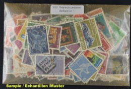 SWITZERLAND, 300 DIFFERENT STAMPS - Timbres