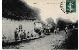 Saône Et Loire POURLANS Le Bas De La Grande Rue - Autres Communes
