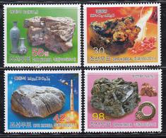 North Korea 2011  Stamp  Mineral 4V - Korea, North