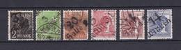 Sowjetische Zone - Allgemeine Ausgaben - 1948 - Michel Nr. 166+169+174+176+A179+180 - Gest. - 47 Euro - Sowjetische Zone (SBZ)