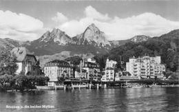 Brunnen (Suisse) - Brunnen U. Die Beiden Mythen - SZ Schwyz