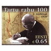 Estonia 2020 Tartu Peace Treaty 100. Mi 978 - Estland