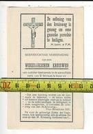 KL 10543 - DE OEFENING VAN DEN KRUISWEG IS GENOEG OM EENE GANSCHE PAROCHIE TE HEILIGEN 1943 - Imágenes Religiosas