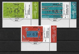 BRD 2012  Mi.Nr. 2924 / 26 , Sporthilfe - Spitzensport - Gestempelt / Fine Used / (o) - BRD