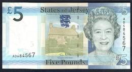 Jersey - 5 Pounds 2010 - P.33a - Jersey