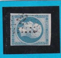 N° 14 A    PC 326   BEAUNE-LA-ROLANDE  ( 43 )  LOIRET   - REF 14112 + Variété -ind 6 + BDF - 1853-1860 Napoleon III