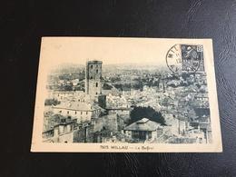 7603 - MILLAU Le Beffroi - 1931 Timbrée - Millau