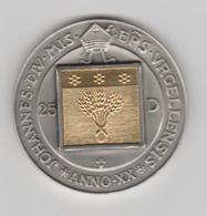 ANDORRA 1 MONEDA DE PLATA CON UNA PLACA DE ORO  Nº 72  TIRADA 2500.  SERVEI D'EMISSIÓNS  (E.M. - Andorra