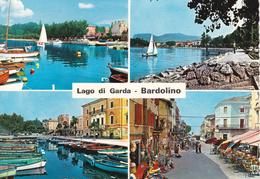 BARDOLINO - VERONA - LAGO DI GARDA - 4 VEDUTE- INSEGNA PUBBLICITARIA BIRRA PERONI - Verona