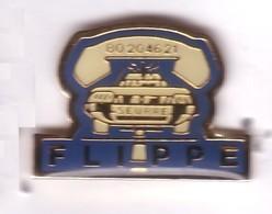 V64 Pin's Village SEURRE BOURGOGNE TAXI AMBULANCE FLIPPE Brazey-en-Plaine Cote D Or Achat Immédiat - Villes