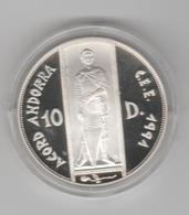 ANDORRA 1 MONEDA DE PLATA Nº 83  TIRADA 25000.  SERVEI D'EMISSIÓNS  (E.M. - Andorra