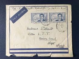 Lettre Du Sénégal Pour Algérie Par Avion 1942 - A.O.F. (1934-1959)