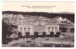 PERPIGNAN - Grand Bazar Et Nouvelles Galeries - Place Magenta (carte Animée) - Perpignan