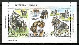 Sweden 1989 Suecia / Dogs MNH Perros Chiens Hunde / Cu15821  18-16 - Perros