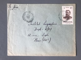 Madagascar, Lettre Pour Paris - TAD BEFANDRIANA NORD 1952 - (C1098) - Covers & Documents