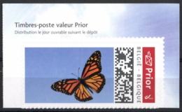 Belgium 2020 Prior Theme Stamp MNH, Monarch Butterfly, Monarque Papillon, Monarchfalter Schmetterling - Papillons