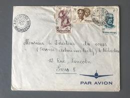 Madagascar, Lettre D'AMBUSITRA 1950 Pour Paris - (C1101) - Covers & Documents
