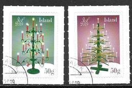 Islande 2019 Série Oblitérée Noël - Gebraucht