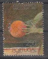 PORTUGAL CE AFINSA 2100 - USADO - SELO DO BLOCO - 1910 - ... Repubblica