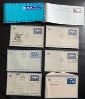 9963 - Lot 8 Entiers Postaux Neuf Et Oblitérés 1961 -1973 - New-York - Siège De L'ONU