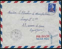 Réunion - Thématique Marianne De Muller - N° 337 Sur Lettre  - TTB - CFA - - Réunion (1852-1975)