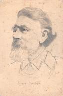 """Caricature Original Du Violoniste Autrichien """" Joseph JOACHIM """" Né à Kittsee En 1831 - Voir Signature - Dessin ORIGINAL - Music And Musicians"""